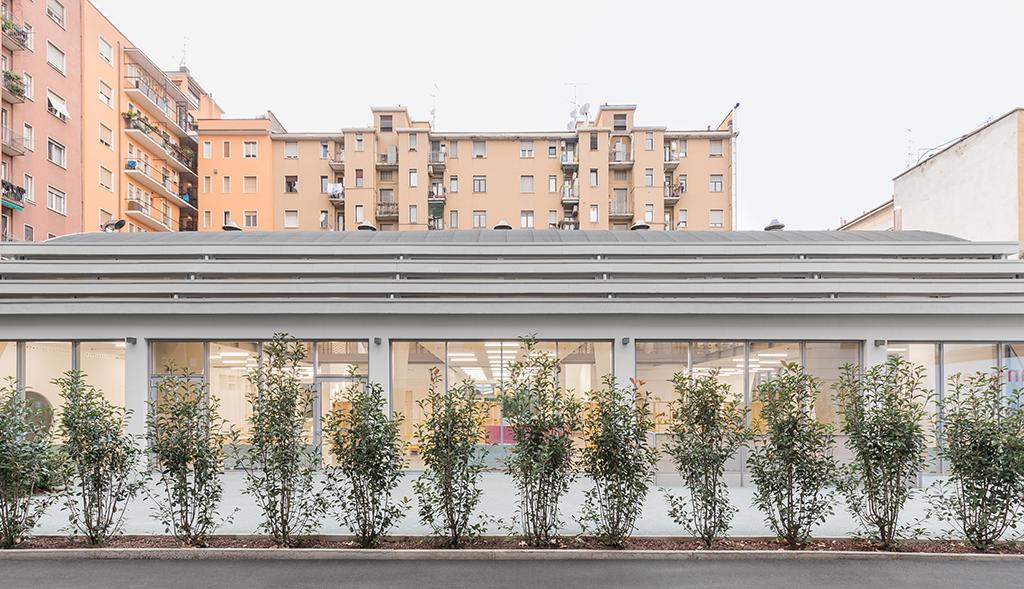 École Jacarandà, Labics © Delfino Sisto Legnani © Marco Cappelletti