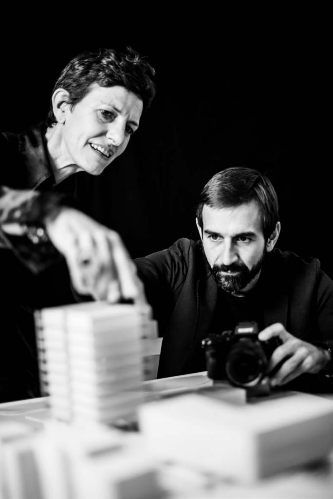 Maria Claudia Clemente et Francesco Isidori (Labics) © Delfino Sisto Legnani © Marco Cappelletti