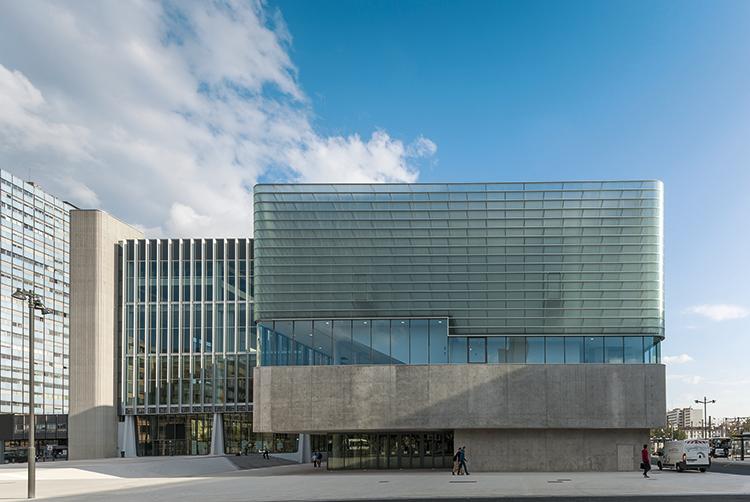 Palais des congrès de Nancy, Centre Prouvé, 2014 @Olivier Dancy