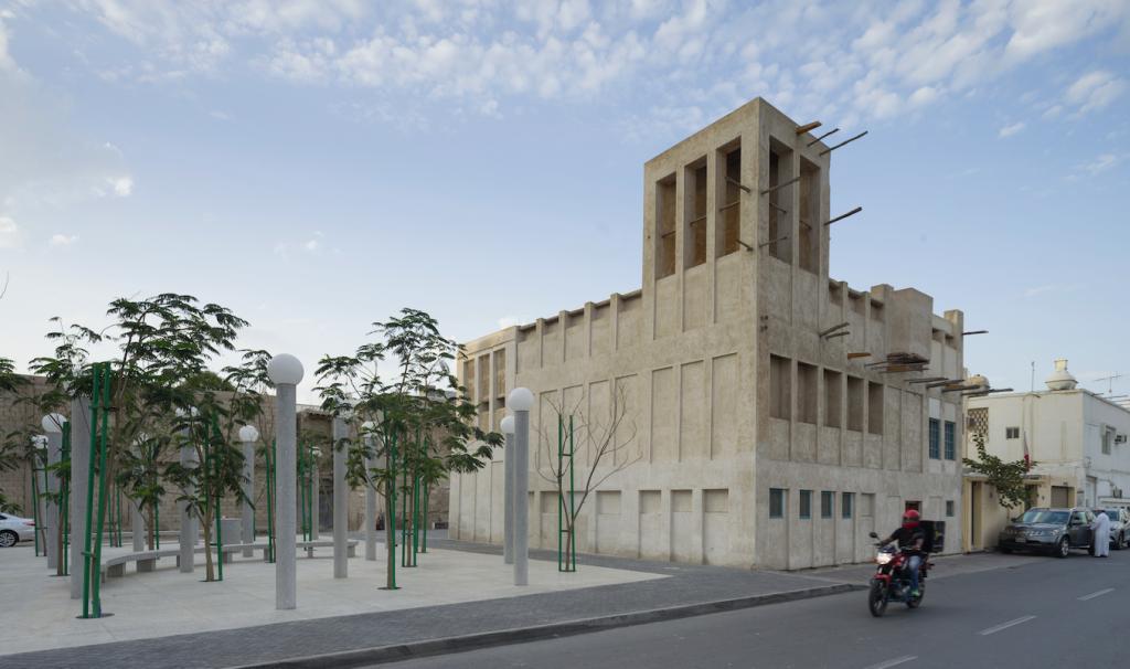 Un des 18 nouveaux espaces publics. Par OFFICE et Bureau Bas Smets © Aga Khan Trust for Culture : Cemal Emden (photographer)