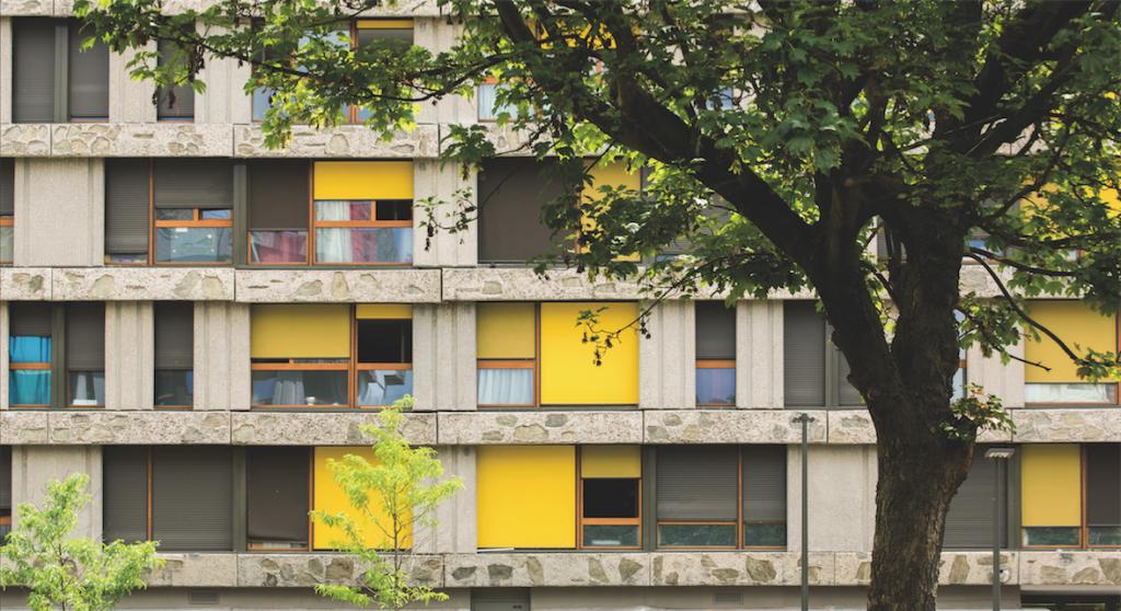 RVA Architectes, réhabilitation de 603 logements sociaux, Créteil, 2019.