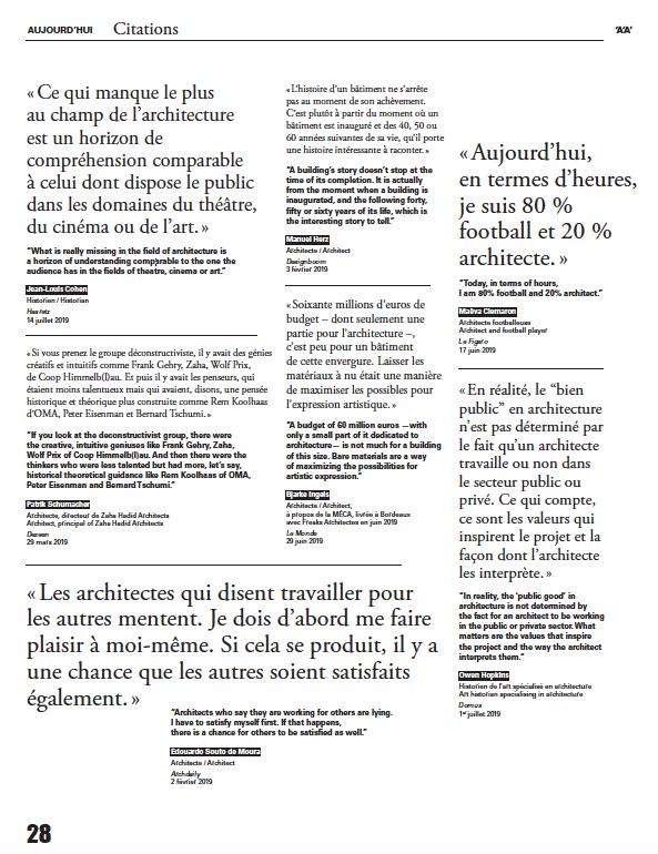 © L'Architecture d'Aujourd'hui n°432