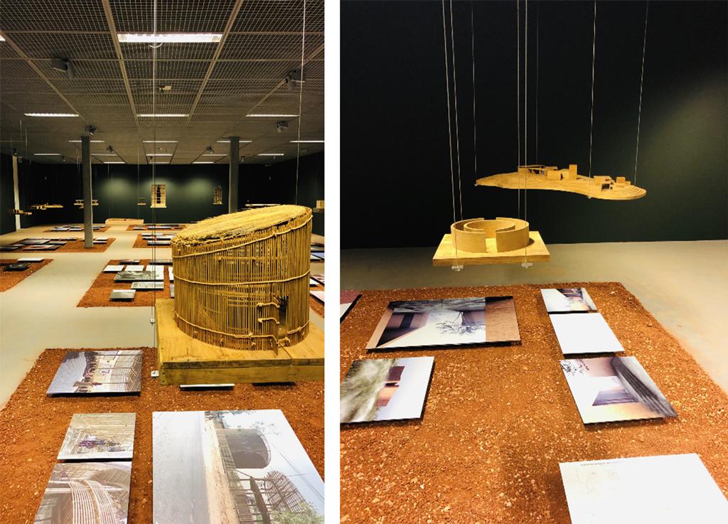 Vue de l'exposition, Archizoom, EPFL, Lausanne