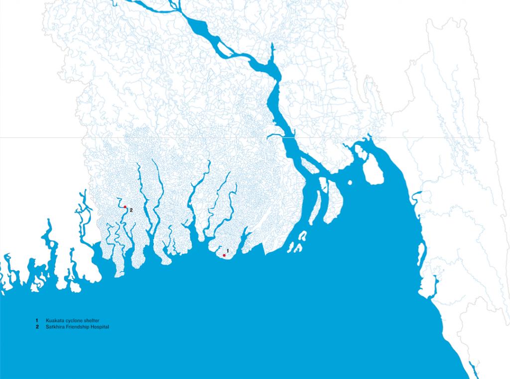 Le delta du Bengale, où sont implantés deux des projets de Kashef Chowdhury.