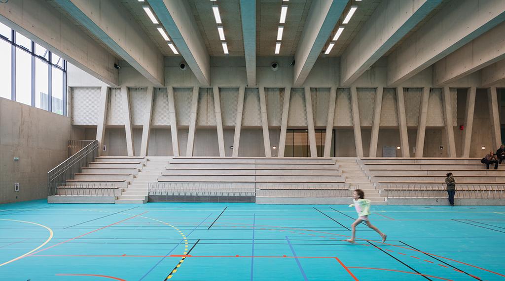 Salle omnisport © Jared Chulski