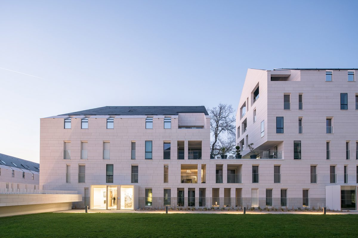 Leibar & Seigneurin, 123 logements, pôle associatif, crèche et jardin public pour Nantes Métropole Habitat, Nantes, France, 2018. © We are contents
