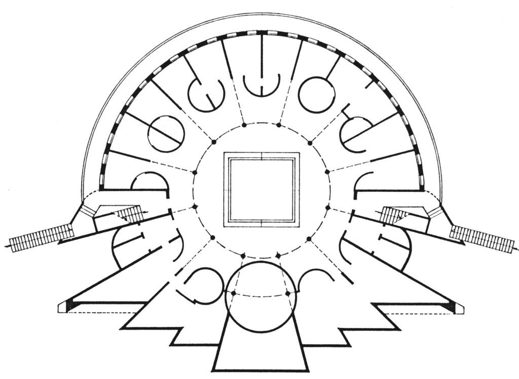 Plan d'étage courant © Manuel Núñez Yanowsky 2