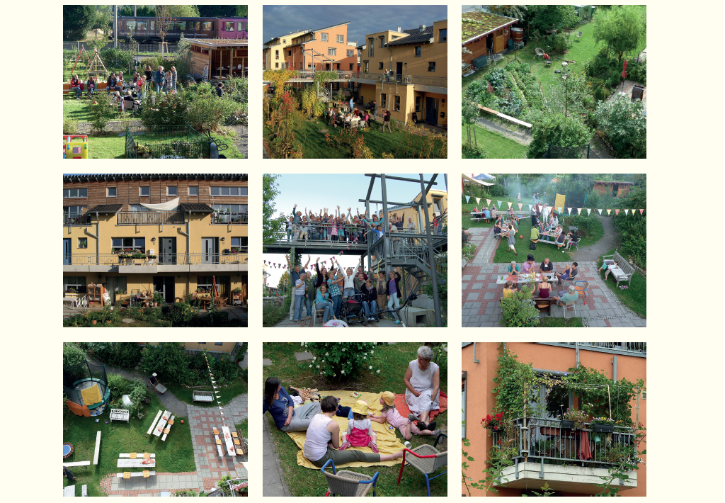 In Bonn, in western Germany, the Amaryllis housing cooperative gathers about 70 people of all ages. © Amarillys