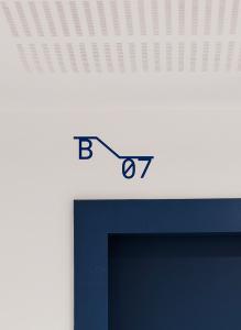 La Crique, Marseille, PietriArchitectes - Signalétique