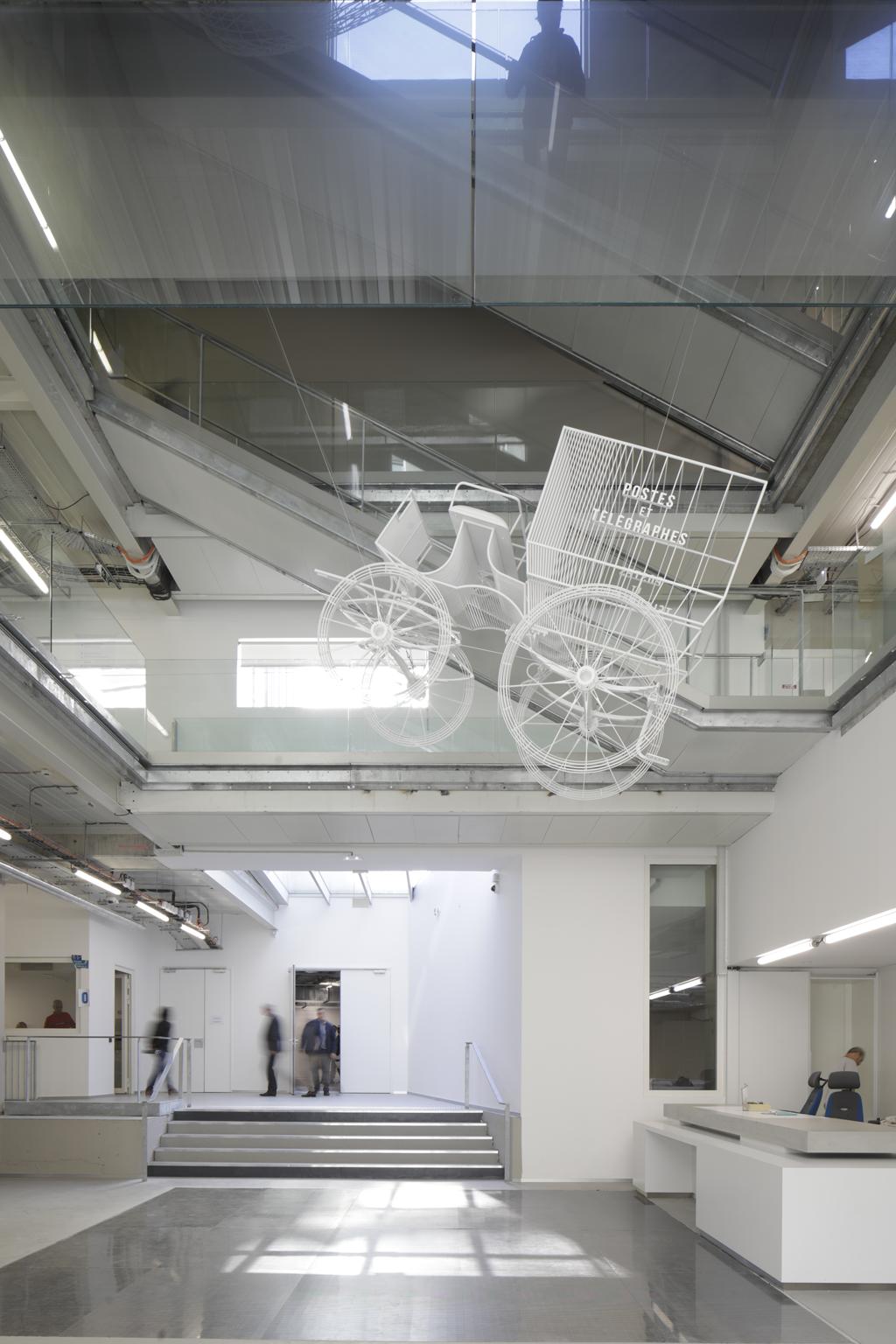 Musée de la Poste, Paris, 2019. © Hervé Abbadie