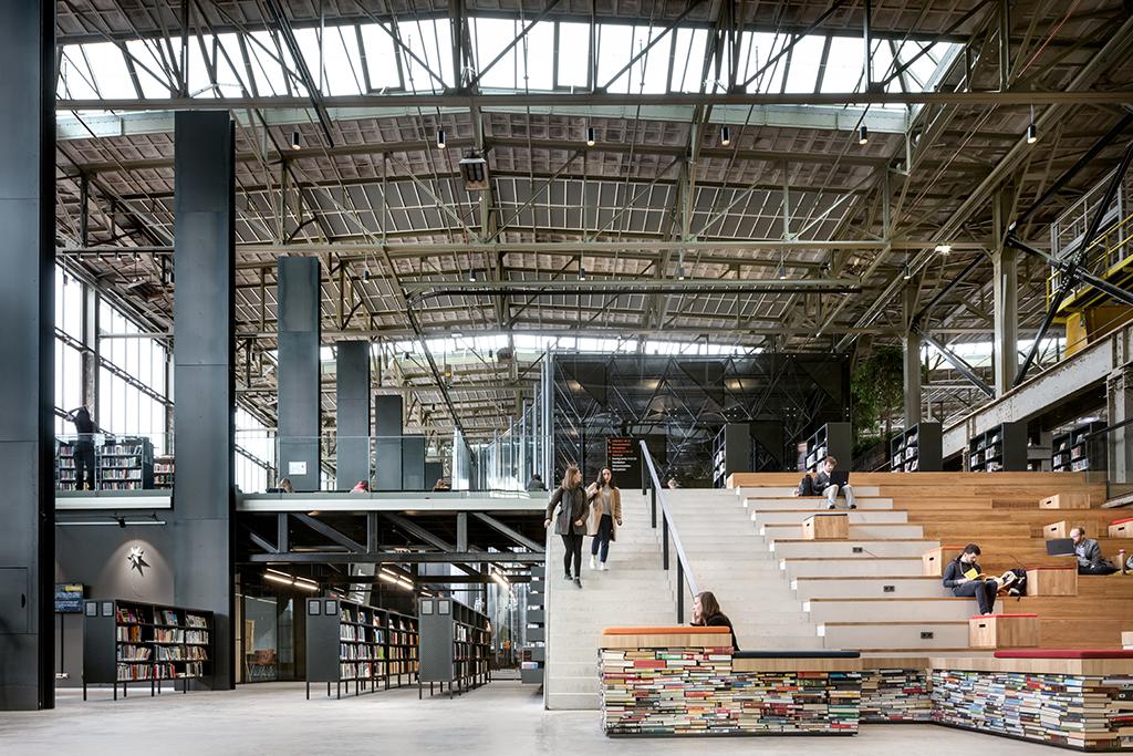 Civic Architects - LocHal, Tilburg, 2019 © Stijn Bollaert