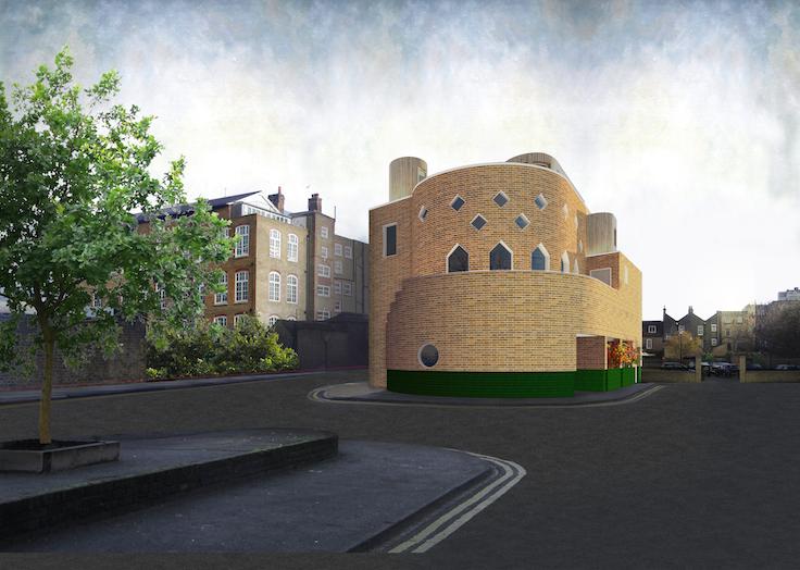 Rénovation et extension d'un bâtiment sur Ivy Street, Londres.