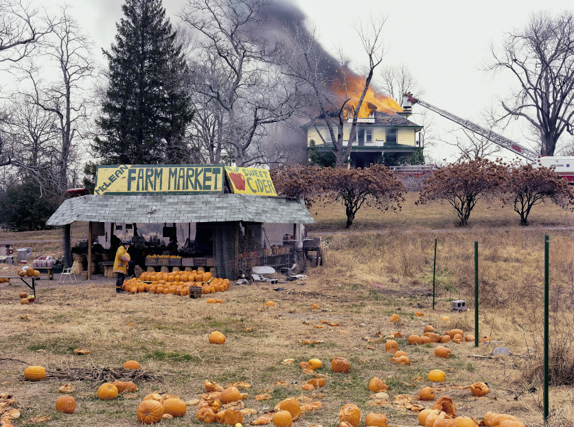 "Joel Sternfeld, ""McLean, Virginia, December 1978"", from Joel Sternfeld, American Prospects, 1987"