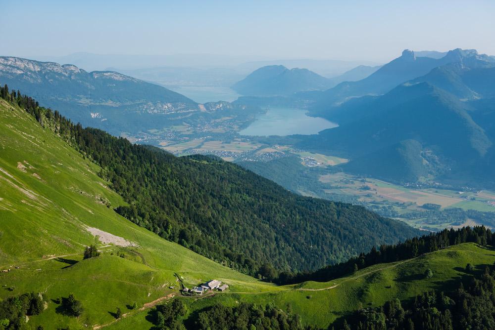 Pays des Sources du lac d'Annecy, vu du ciel ©Timothée Nallet