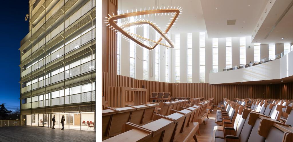 Le Centre Européen du Judaïsme (Paris), Stéphane Maupin architecte, 2019 ©DR