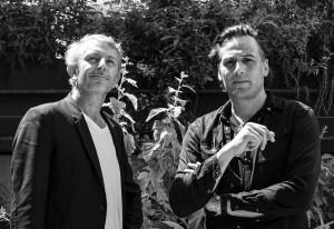 Guillaume Sibaud et Olivier Raffaëllii (©Thomas Smith)