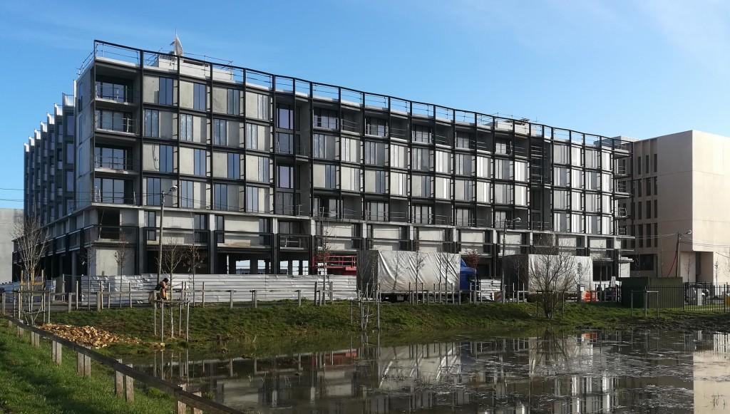 CANAL architecture – résidence pour étudiants sur le plateau de Saclay - Projet en partie réversible suspendu le temps du confinement