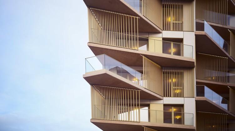 ITAR et Fresh Architectures, immeubles de logements, Paris, 17e, 2018.