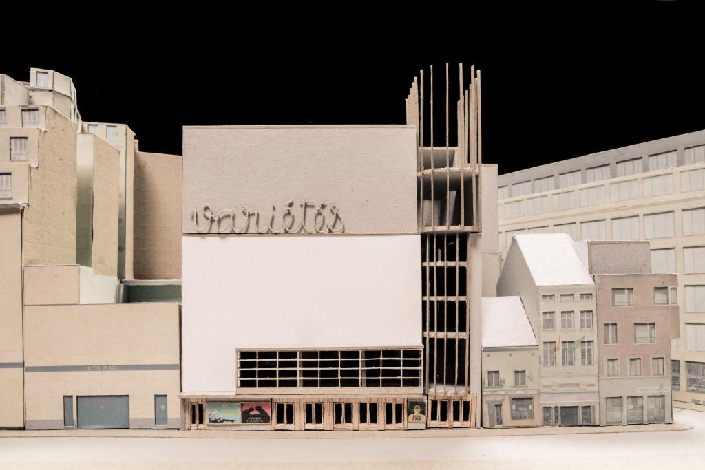 Variétés Laboratory for Artistic Creation in Brussels (Belgium). Architects: Flores & Prats + Ouest Architecture