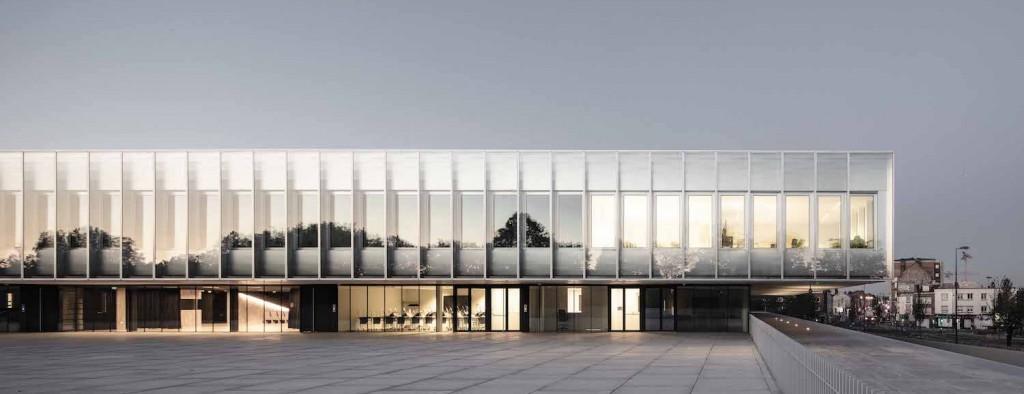 Chambre de Métiers et de l'Artisanat Hauts-De-France, KAAN Architecten, photo ©Sebastian van Damme