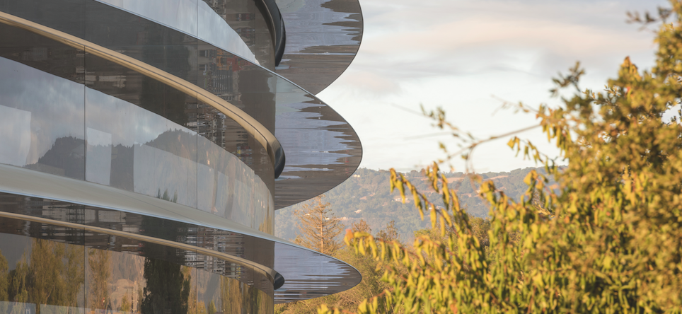 Apple Park, Cupertino, Silicon Valley, 2017 © Nigel Young / Foster + Partners