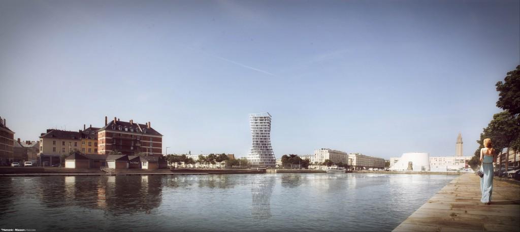 Projet Videcoq, Le Havre, lauréats concours 2017 ©Hamonic + Masson & Associés