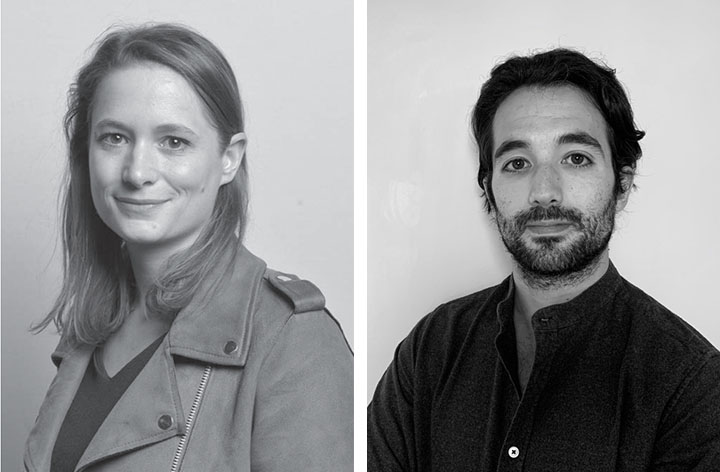 "Marie-Estelle Carli et Ugo Simon, founders of ""Folks"",  coliving operators"