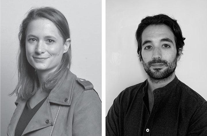 "Marie-Estelle Carli et Ugo Simon, founders of ""Folks"",  coliving operators"