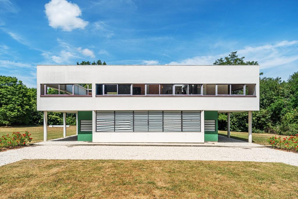 Les 5 points de l'architecture moderne en pratique, Villa Savoye, Poissy, le Corbusier, 1928-1931 Photos © Pierre Chatel-Innocenti