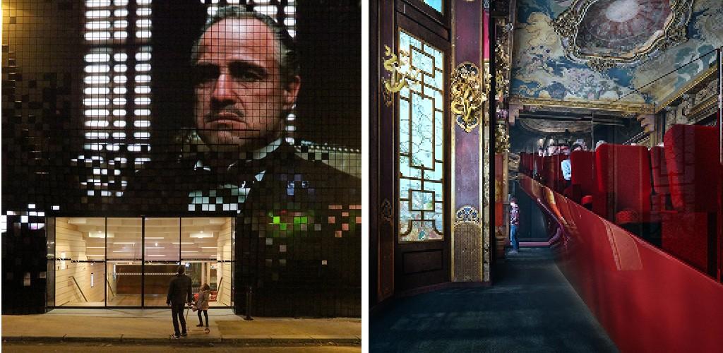 Cinéma Les Fauvettes, Paris, France, 2015 | Cinéma La Pagode, Paris, France, 2021