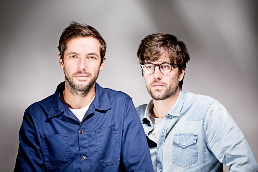 Joran Briand et Arnaud Berthereau   © Olivier Roller