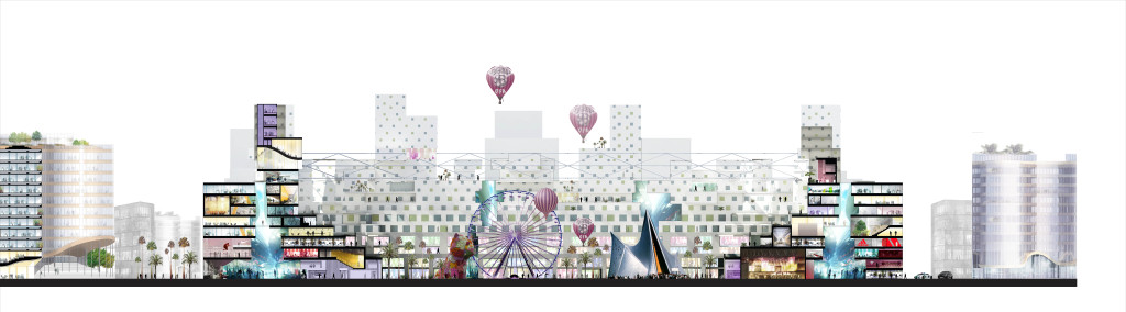 Stadium Square © SCAU architectes