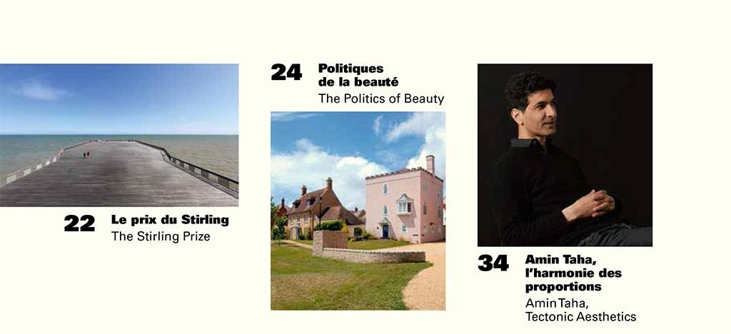 Le prix du Stirling, Politiques de la beauté, Amin Taha l'harmonie des proportion