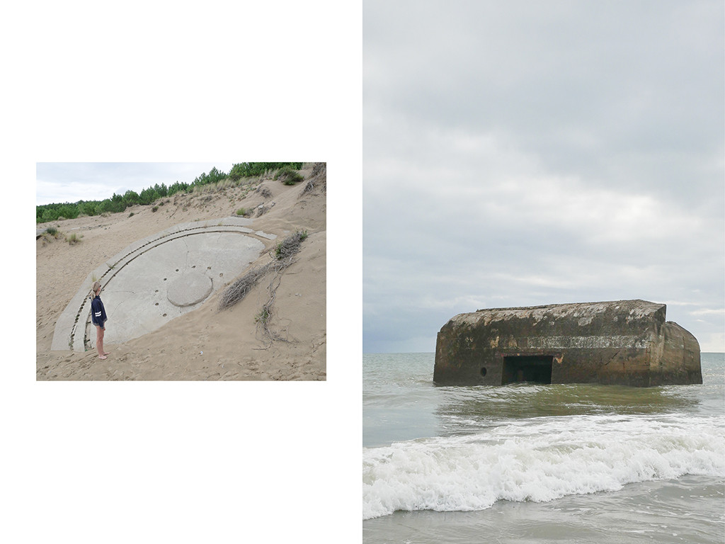 Bunkers, plages Point du Chay, Pontaillac © Vanessa Bosio