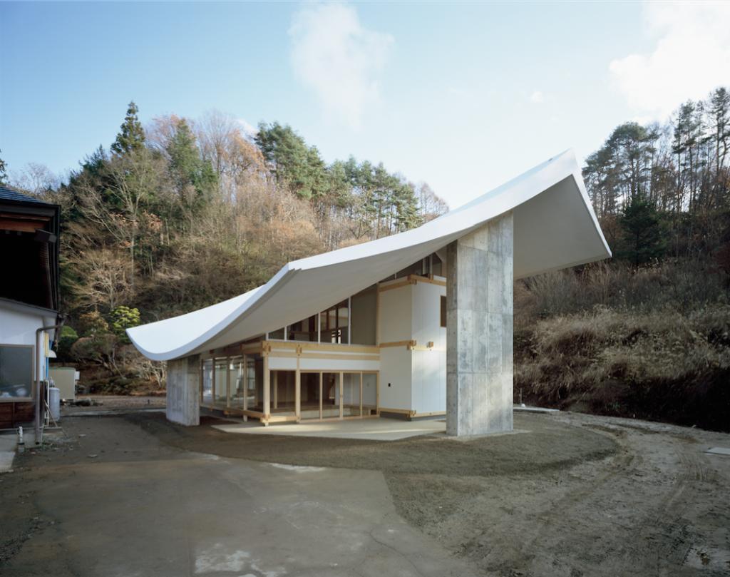 Katsuhiro Miyamoto, Chushinji Temple, Priest's Quarters, Nagano, 2009 © Takumi Ota