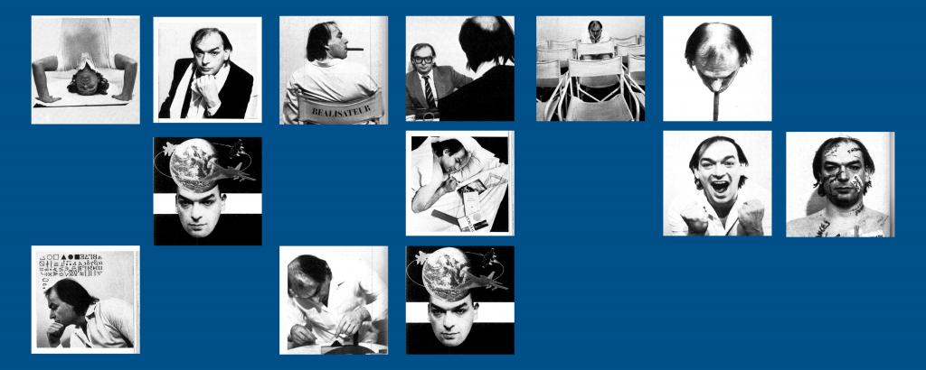 Portraits de Jean Nouvel.  AA n° 231, février 1984. © L'Architecture d'Aujourd'hui