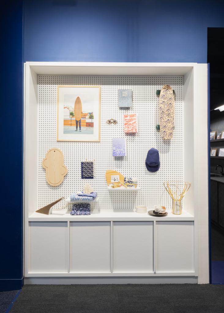 Eco.Work, Exposition réalisée au sein de l'atelier Tarkett à Paris © Atelier Tarkett