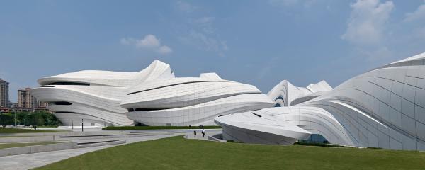 Zaha Hadid Architects, Changsha Meixihu International Culture & Arts Centre, 2019 © Virgile Simon Bertrand