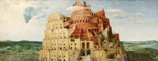 Pieter Brueghel l'Ancien, la Tour de Babel, 1563