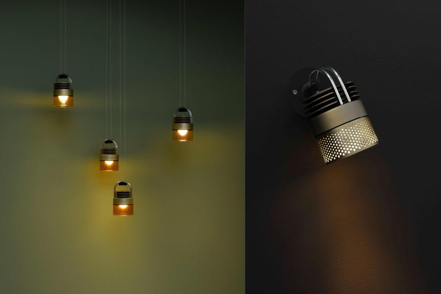 Lampe Mod par Stéphan Diez pour Sammode