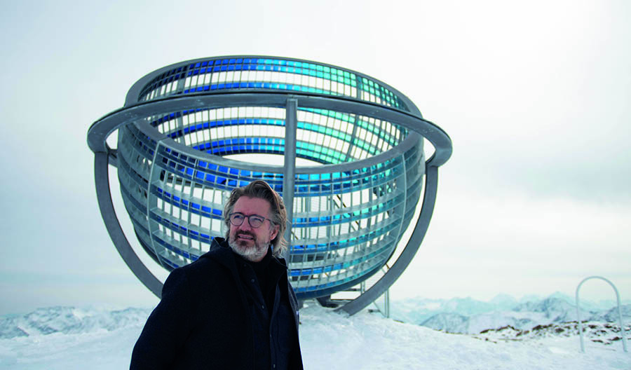 Olafur Oliasson, Our Glacial perspective, 2020 | © 2020 Olafur Eliasson - photo Martin Rattini