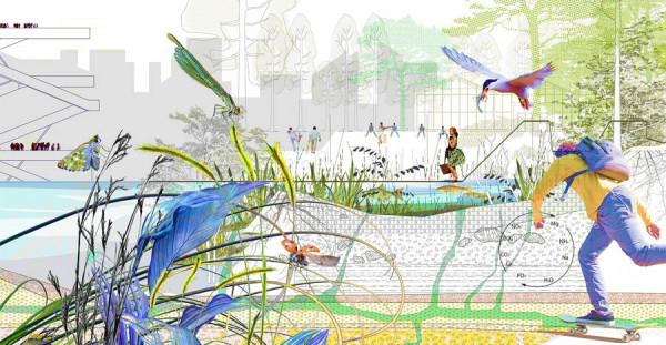 Affiche de l'exposition sols vivants © Agence Ter