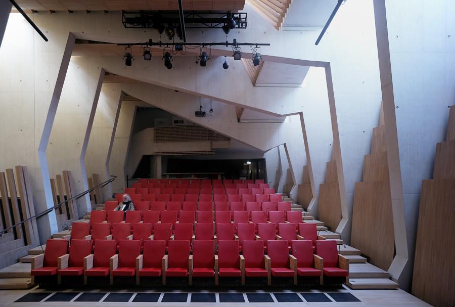 Auditorium de la fondation Jan Michalski © Julien Lanoo