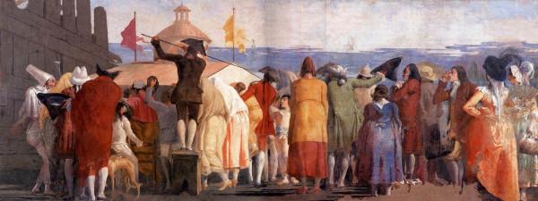 Giandomenico Tiepolo, Il Mondo nuovo, 1791