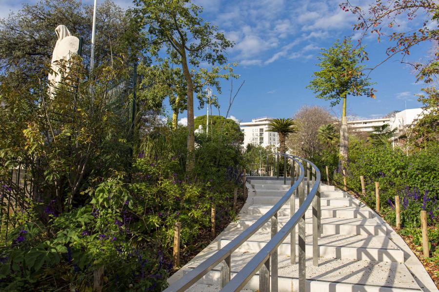 Jardin Alexandre 1er, quartier Chalucet - Toulon © TPM O.Pastor