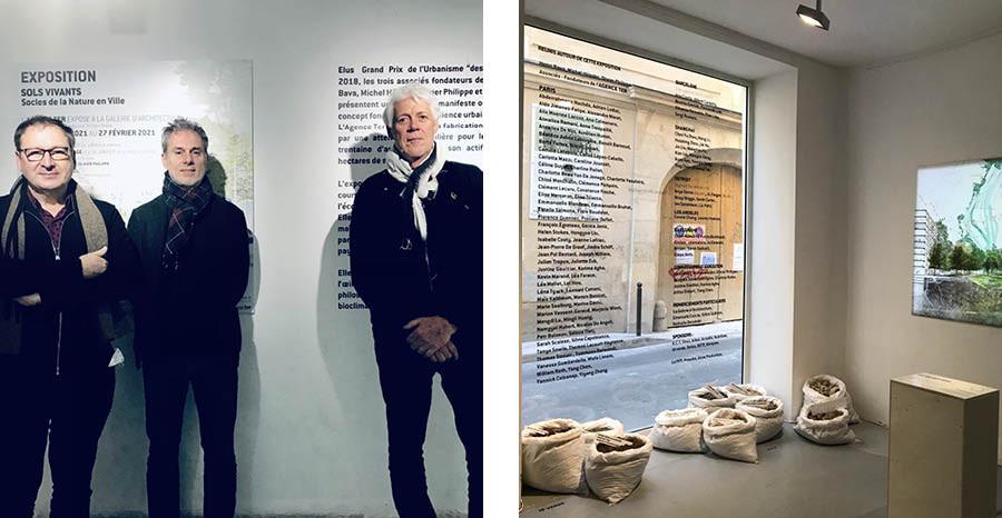 Henri Bava, Michel Hössler, Olivier Philippe - Agence TER © La Galerie d'architecture