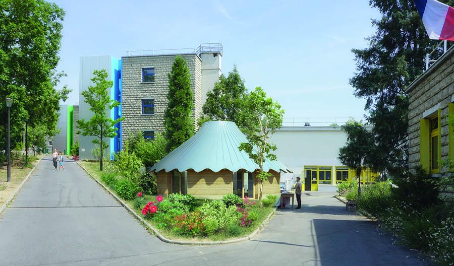 Atelier Senzu, Pavillon Le Vau, Paris, Chantier début 2021 | © Atelier Senzu