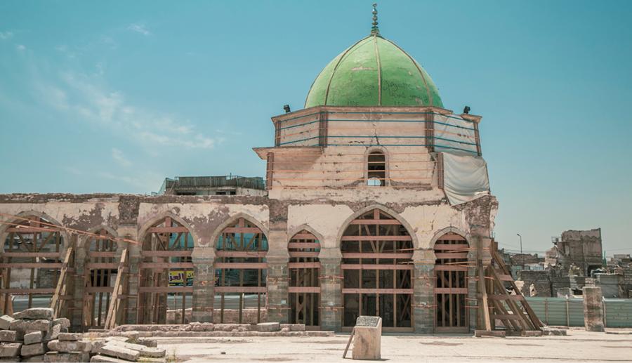 Al-Nouri mosque, Mosul, Iraq | © UNESCO – Moamin Al Obaidi