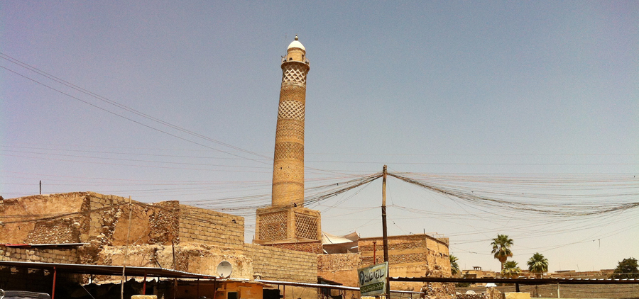 Al-Nouri mosque in Mosul, before its destroyed| © Faisal Jeber on Wikicommons