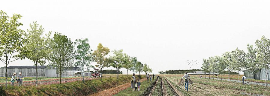 Urbanisme Agricole Projet lauréat, pays de Dreux, France | © Urbanisme agricole - Europan France